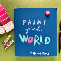 Pinta tu mundo: Sketchbook pictórico en gouache. Un projet de Illustration , et Art urbain de Maru Godas - 29.11.2020