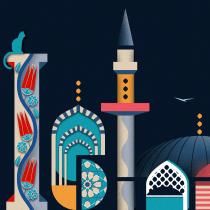 My project in Illustrated Digital Lettering course. Un proyecto de Ilustración y Diseño tipográfico de Andrea Wagner - 03.12.2020