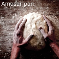 Amasar pan. A Writing project by Mikel Rotaeche - 12.05.2020