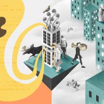 Mi Proyecto del curso: Collage digital para medios editoriales. A Collage und Editorial Illustration project by simone prezzolini - 10.12.2020