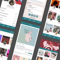 Mi Proyecto del curso: Diseño de producto digital con Lean y UX. Um projeto de UI / UX e Design de apps  de Marta Delclós - 15.12.2020