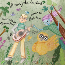 A corujinha do vovô. Um projeto de Ilustração infantil de Pérola Amaral - 16.12.2020