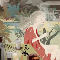 Mi Proyecto del curso: Ilustración creativa: composición y color. A Illustration, Creativit, and Digital Drawing project by Carmen Gorosito - 12.19.2020