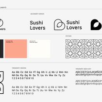 Sushi Lovers. Logo & Identity Design. Gerardo Molina.. Um projeto de Br e ing e Identidade de Gerardo Molina - 22.12.2020