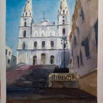 My project in Architectural Illustration with Watercolor course. Un projet de Esquisse , Aquarelle et Illustration architecturale de Giancarlo Machado - 13.12.2020