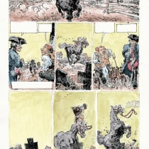 My project in Watercolor Coloring for Comics and Illustrations course. A Illustration und Aquarellmalerei project by Katerina Xerovasila - 26.12.2020