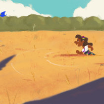 Les comparto mi proyecto, espero pueda servir como inspiración. A 2-D-Animation project by J Cesar Martínez - 27.12.2020