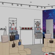 Mi Proyecto del curso: Creación de proyectos de interiorismo con SketchUp. Un proyecto de 3D, Arquitectura interior y Diseño de interiores de Harold Walter Landeo Huamán - 29.12.2020