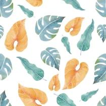 Mi Proyecto del curso: Acuarela botánica para estampados. A Illustration, Pattern Design, and Watercolor Painting project by Claudia Valencia - 12.29.2020