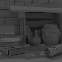 Mi Proyecto del curso: Modelado cartoon de bodegones con Maya. Un proyecto de 3D de Pablo Figueroa San Martín - 01.01.2021