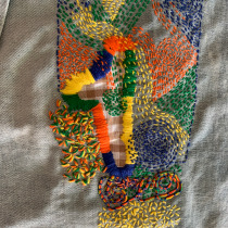 Mi Proyecto del curso: Bordado: reparación de prendas. Um projeto de Bordado de Carol Morales Ramirez - 04.01.2021