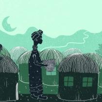 My project in Illustrated Stories Using Light and Shadows course. Un proyecto de Ilustración e Ilustración digital de Damiana Femminella - 08.01.2021