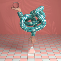 Balance. A 3D, and 3D Animation project by david.gueona - 01.09.2021