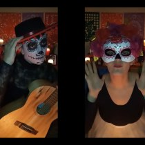 "Videoclip ""la de la muerte"" para el grupo aamigafea. A Musik und Audio project by Estefa Rguez - 01.11.2020"