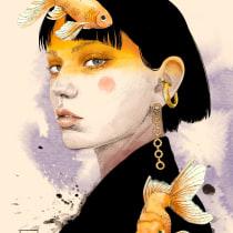 My project in Illustration Techniques with Digital Watercolor course. Un proyecto de Ilustración digital, Dibujo digital y Pintura digital de anna.gonzalez - 10.01.2021