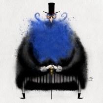 O Barba Azul-Meu projeto do curso: Introdução à ilustração infantil. A Digital illustration, Children's Illustration, and Editorial Illustration project by Jack azulita - 01.11.2021