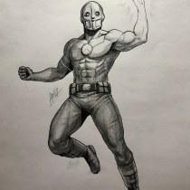 Proyecto final: Ilustración para cómics: anatomía de un superhéroe. Um projeto de Ilustração de Andres Ramirez - 17.01.2021