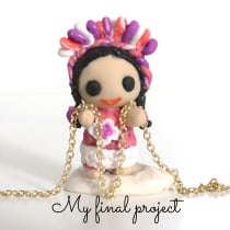 My project in Creating Jewelry with Polymer Clay course. A Crafts, and Sculpture project by Maria Dolores Manrique - 01.19.2021