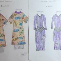 Mi Proyecto del curso: Introducción al diseño de moda COLECCIÓN CAPSULA EMOCIONES.. Un proyecto de Diseño de Nadia Mah - 21.01.2021