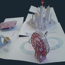 Mi Proyecto del curso: Técnicas avanzadas para la creación de libros pop-up. A Mobile design project by Edith Letessier - 01.25.2021