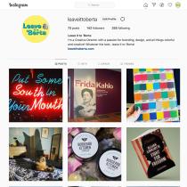 leaveittoberta Instagram account makeover. A Br und ing und Identität project by Roberta Morris - 25.01.2021