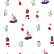 Sul mare. Un projet de Illustration numérique de Emiliana Petrolini - 27.01.2021