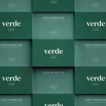 BRANDING para Verde.Café. Um projeto de Br, ing e Identidade e Design gráfico de Daniela Buendía - 27.01.2021