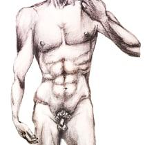Mi Proyecto del curso: Dibujo de la figura humana en movimiento. A Illustration, Bleistiftzeichnung und Anatomische Zeichnung project by Agustin Mendoza - 26.01.2021