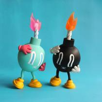 Panic! Bomb . Un projet de Character Design, Sculpture , et Art to de Natassja Velasco - 30.01.2021