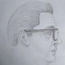 Mi Proyecto del curso: Dibujo anatómico de la cabeza humana. Un proyecto de Dibujo anatómico de Carlos Alberto Rodal Diaz - 01.02.2021