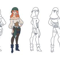 My project in Character Creation for Animation: Shapes, Color, and Expression course. Un proyecto de Ilustración, Diseño de personajes, Cómic, Creatividad y Dibujo digital de Karina Nesterova - 25.01.2021