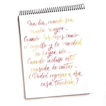 Nana. Un progetto di Calligrafia , e Calligrafia con pennarello di Natalia Alfaro Alfaro - 06.02.2021