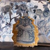 Conto o Rouxinol de Hans Christian Andersen . Un proyecto de Ilustración de Cris Pires - 12.02.2021