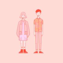 Mi Proyecto del curso: Composición creativa para ilustración con Procreate. Un progetto di Illustrazione, Character Design e Illustrazione digitale di Alberto Anaya - 15.02.2021