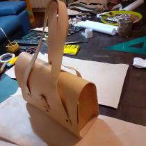 Mi Proyecto del curso: Creación de bolsos de cuero artesanales para principiantes. Um projeto de Design de joias de solfloresjoyeria - 16.02.2021