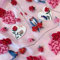Mi Proyecto Final para TIAMO: Colección San Valentín y Colección Animales. A Jewelr, Design, Mobile Photograph, Instagram & Instagram photograph project by Mariabelén Reinoso Herrera - 02.17.2021