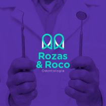 Rozas&Roco Odontología: Creación de un logotipo original desde cero. Un progetto di Design, Pubblicità, Br, ing e identità di marca, Graphic Design, Creatività, Design di loghi , e Comunicazione di Jose Mendez - 04.07.2020
