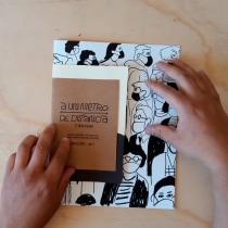 A un metro de distancia Fanzine. Um projeto de Design, Ilustração, Design editorial, Design gráfico e Humor gráfico de Omar Sepúlveda Villaseca - 16.11.2020