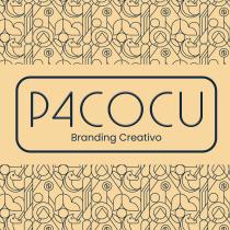 P4cocu Logo. Un projet de Br, ing et identité, Illustration vectorielle, Création de logo, Design t , et pographique de Francisco Cuevas - 25.02.2021