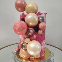Mi Proyecto del curso: Cake design: técnicas decorativas modernas. Un projet de Cuisine de b.cortes.palacios - 27.02.2021