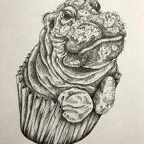 Mi Proyecto del curso: Ilustración surrealista con rotuladores. A Ink Illustration project by silvia_oliveta - 02.28.2021
