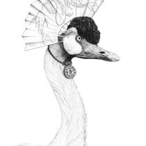 My project in Surrealistic Fineliner Illustration course. Un progetto di Illustrazione, Belle arti, Creatività, Arte concettuale , e Disegno artistico di Margo Naude - 01.03.2021