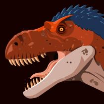 Dinomundo. Un projet de Direction artistique, Illustration vectorielle et Illustration naturaliste de Luis Daniel Pérez Molina - 02.03.2021