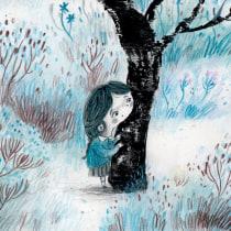 La montaña. A Illustration, Character Design, Watercolor Painting, and Children's Illustration project by Julián David Jiménez Ariza - 03.03.2021