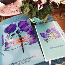 Dibujo y composición naturalista en acuarela: el Patio de Ovín. A Botanische Illustration project by Marieta Alonso-Collada - 17.02.2021