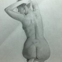 Mi Proyecto del curso: Dibujo de la figura humana en movimiento. A Pencil drawing project by Maria Fernanda Revoredo - 03.14.2021