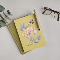 Mi Proyecto del curso: Dibujo y composición naturalista en acuarela. A Illustration, and Watercolor Painting project by Claudia Valencia - 03.15.2021
