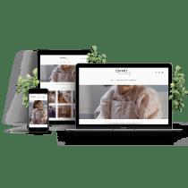 Projeto do Curso da loja on-line Shopify - Marca Ispari. Un projet de e-commerce de Patrícia Ferreira - 16.03.2021