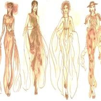 Mi Proyecto del curso: Introducción al diseño de moda: Destello de luz. Un projet de St , et lisme de Paulina Guadalupe Carmona Moreno - 17.03.2021