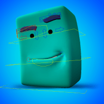 Proyecto del curso: Rigging: articulación facial de un personaje 3D. A Rigging project by Oscar Kingsley - 03.22.2021